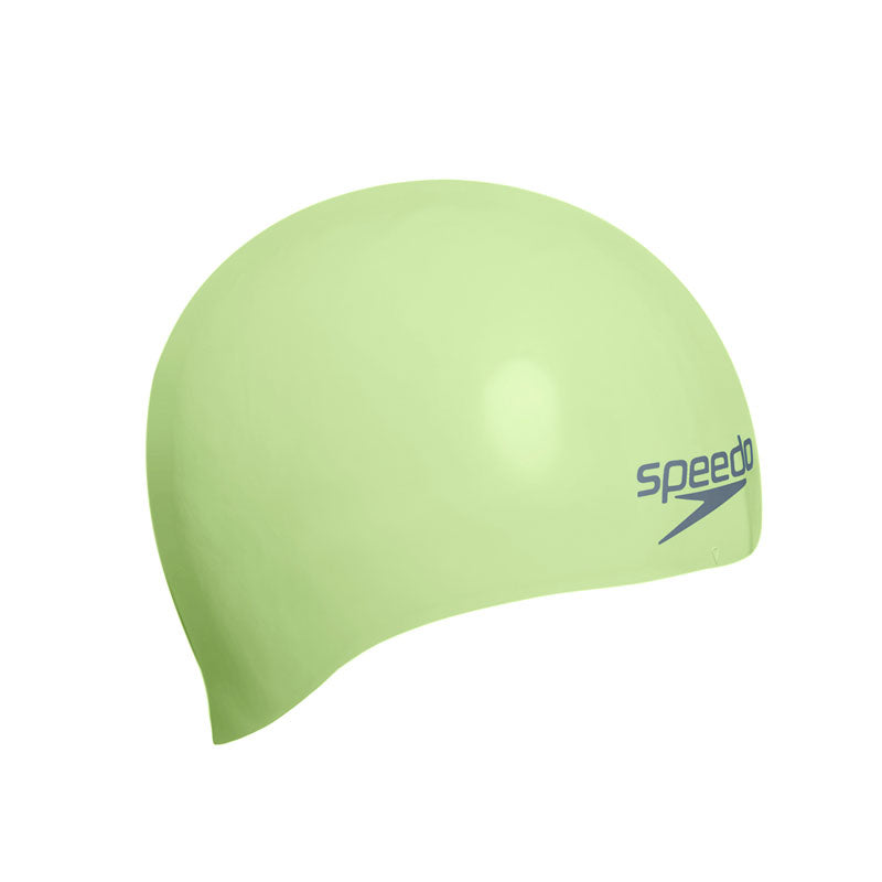 Speedo Moulded Silicone Cap Green
