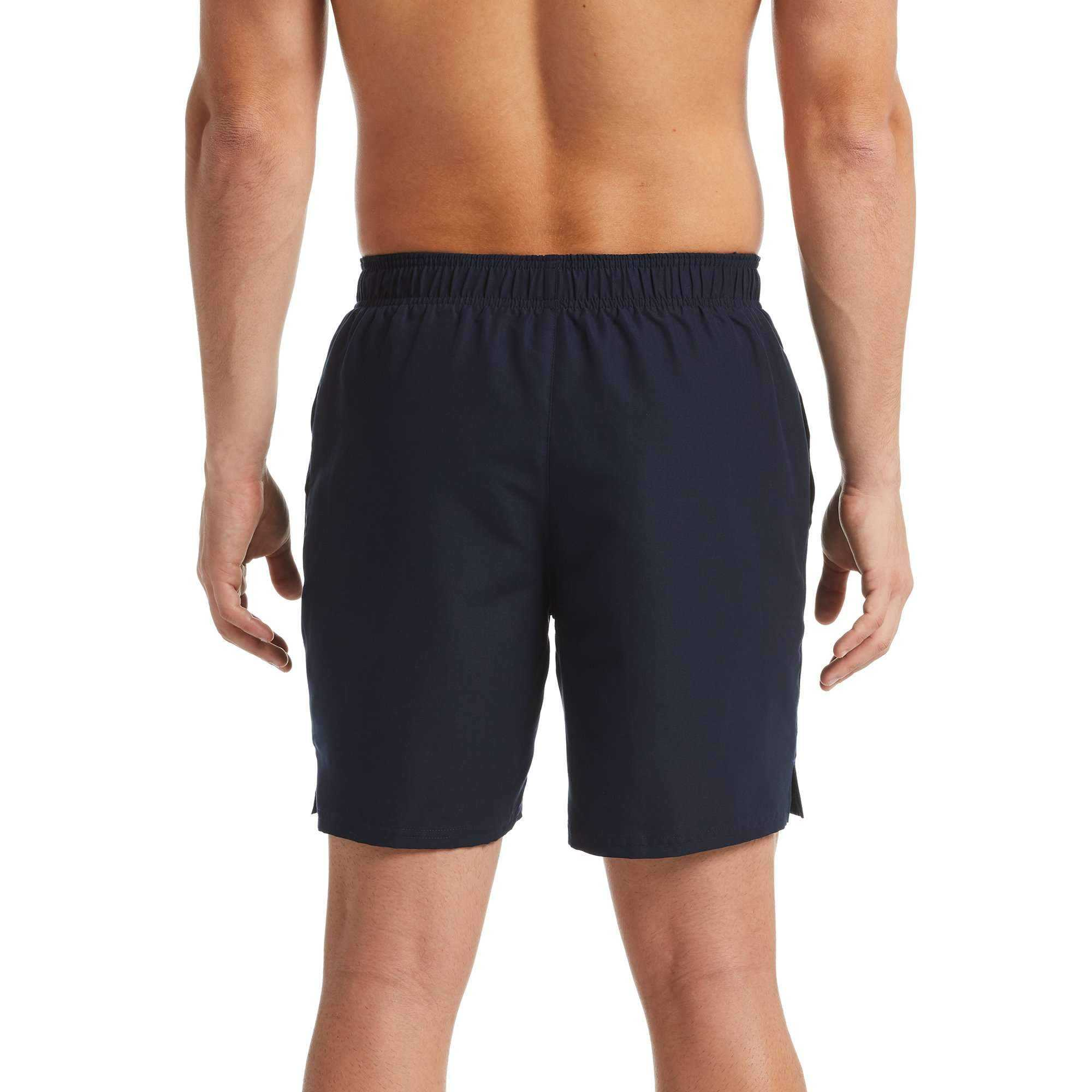 "Mens Solid Lap 7"" Volley Short obsidian 