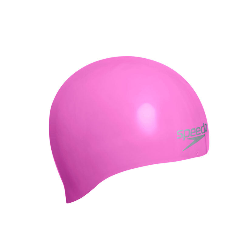 Speedo Moulded Silicone Cap Pink