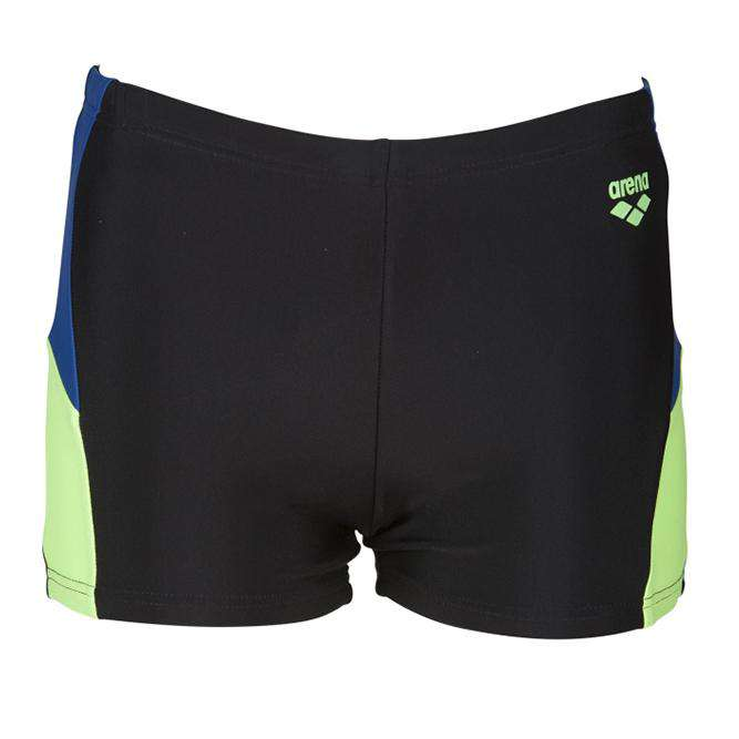 Boys Ren Short black-royal-shiny-green | Zwemmershop