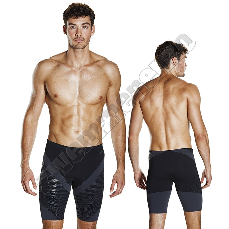 Speedo Chevron Splice Jammer black/grey