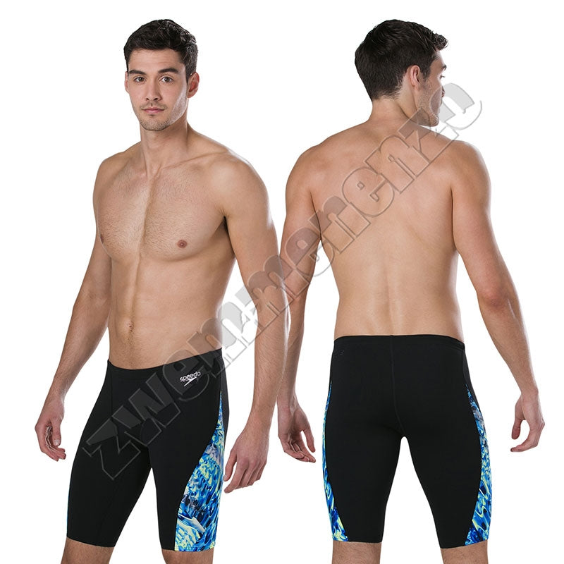 Speedo ReflectFlash Allover Digital VJammer Black/ navy