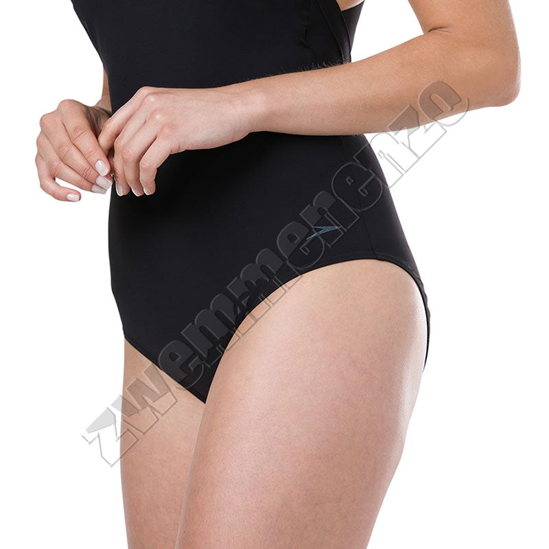 Speedosculpture Opalweb 1 Piece black