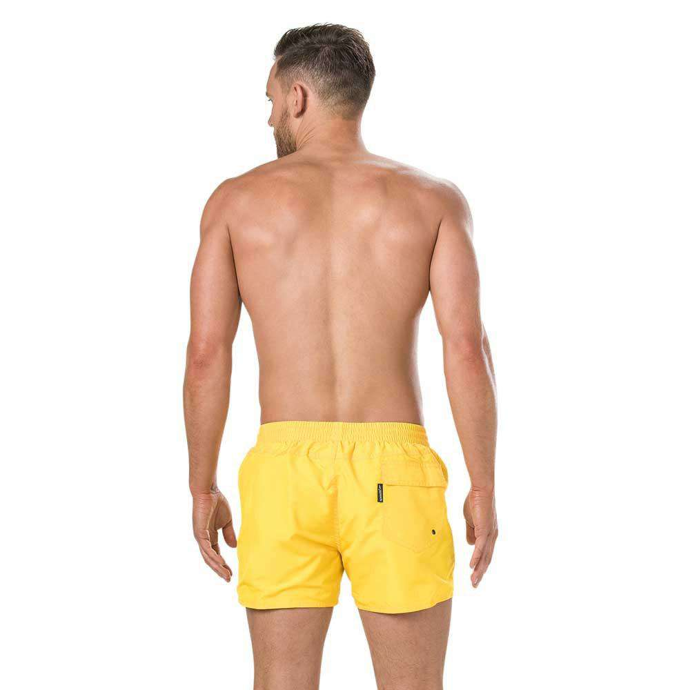 Fitted Leisure Watershort Geel | Zwemmershop