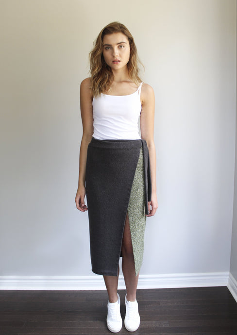Britton Wrap Skirt