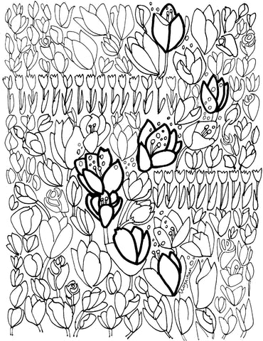 Coloring Pages- Kate Moynihan – Moynihan Gallery at Candleology