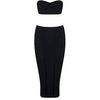 Liana Bandage Two Piece Black