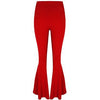 Chola Flared Trousers Red