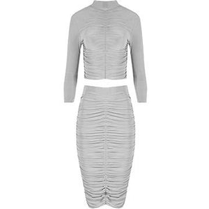Gretchen Two Piece Grey