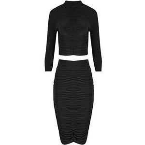 Gretchen Two Piece Black