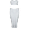 Liana Bandage Two Piece White