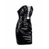 Tirelle Vinyl Dress Black