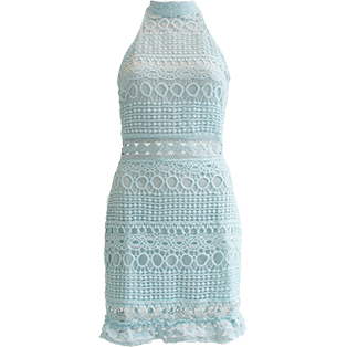 Acala Dress Pastel Blue