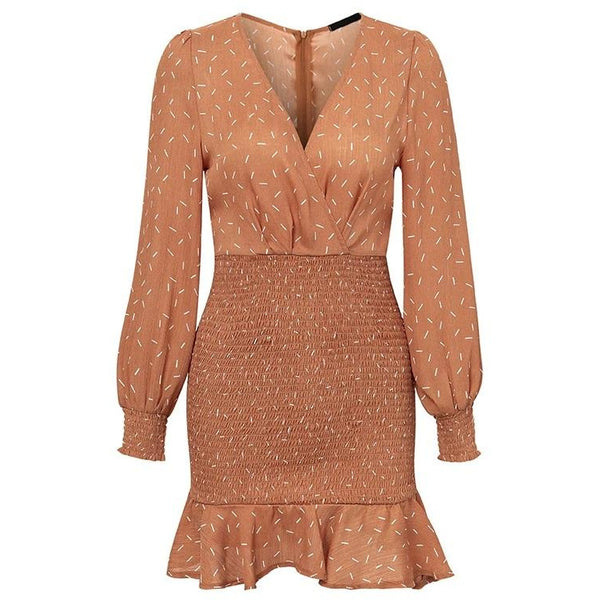 Ama Dress Copper