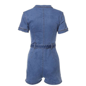 Amilla Denim Playsuit