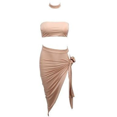 Asata Knot Two Piece -Nude