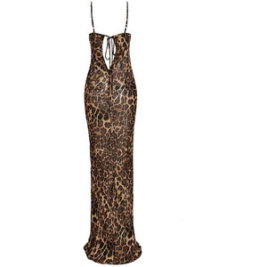 Aurellia Leopard Dress