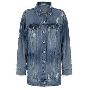 Austin Long Denim Jacket