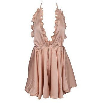Chaney Playsuit -Rose