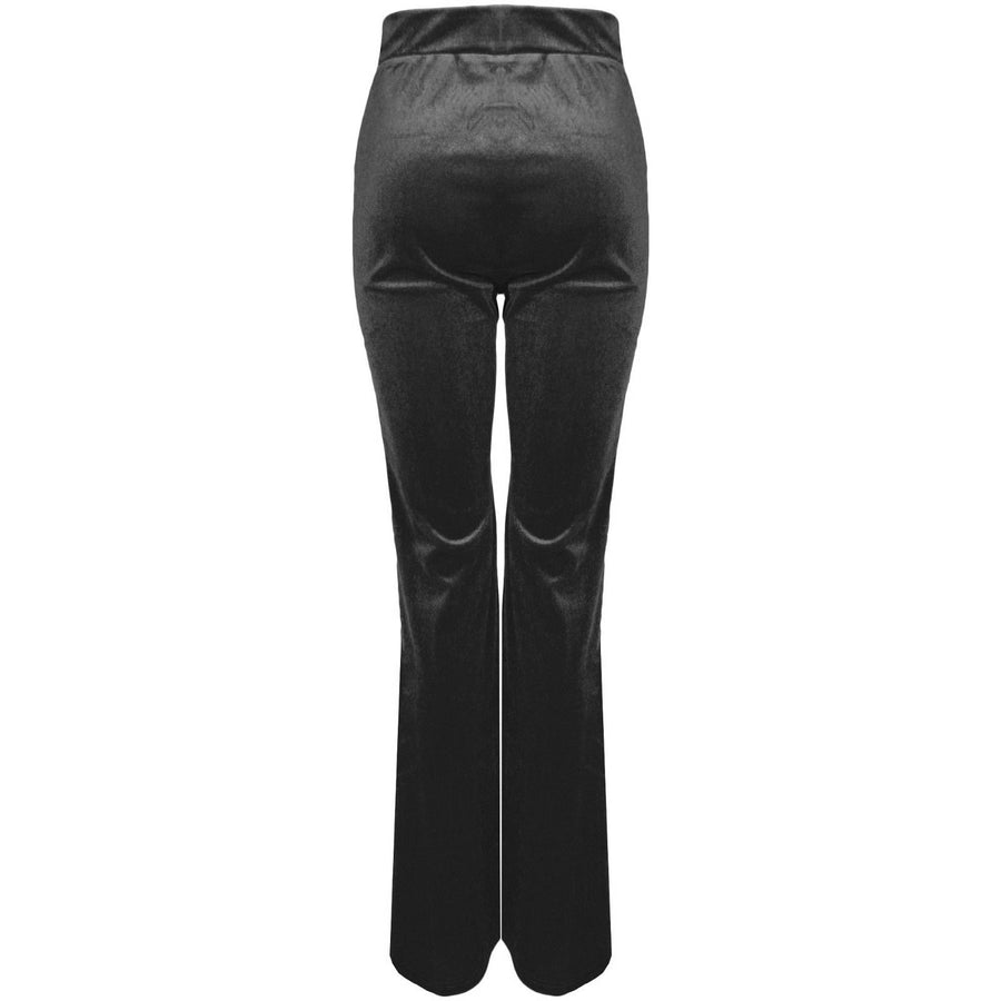 Chase Velvet Trousers Black
