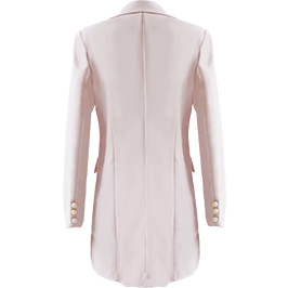 Collette Blazer Dress Blush
