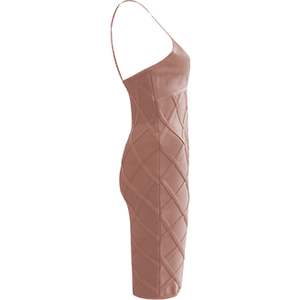 Demera Bandage Dress Pink