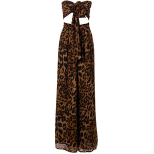 Dianni Leopard Print Two Piece