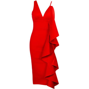 Elesina Dress Red