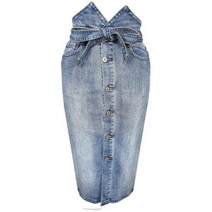 Reena Skirt Denim
