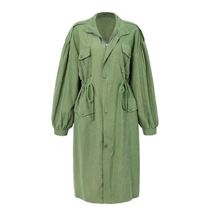 Gatsby Trench Coat Khaki
