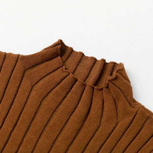 Hariet Crop Top Brown