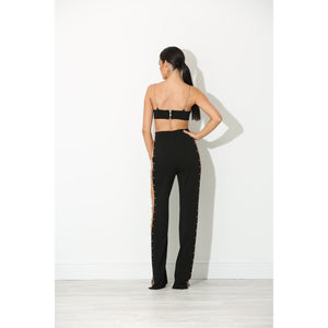 Harper Black Chain Two Piece