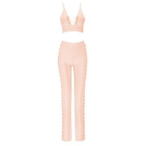 Harper Pink Chain Two Piece