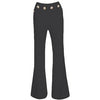 Helenia Bandage Trousers Black