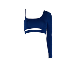 Kiara Crop Top Cobalt Blue