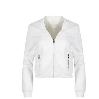 Ilya Light Bomber Jacket White