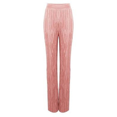 Irena Pleated Trousers -Pink