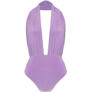 Jupiter One Piece Swimsuit Lilac