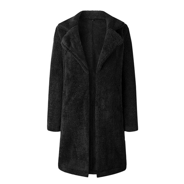 Kent Teddy Bear Coat Black