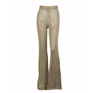 Kiana Chain Trousers Gold