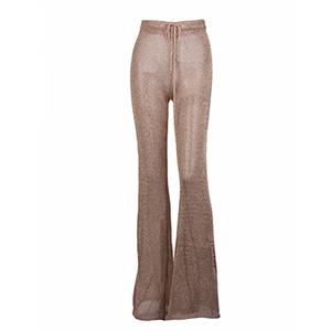 Kiana Chain Trousers Rose Gold