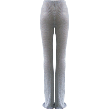 Kiana Chain Trousers Silver