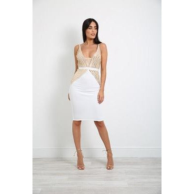 Kizzi Dress White