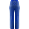 Lauryn Crop Trousers Blue