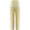 Lauryn Crop Trousers Yellow