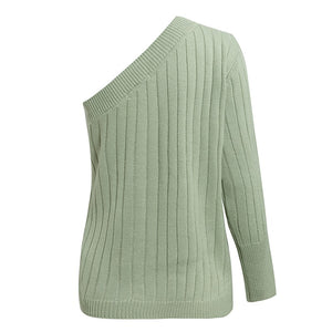 Mell Ribbed Ribbed Top Mint