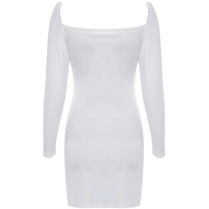 Maine Dress White