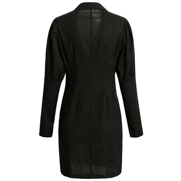 Molli Blazer Dress Black