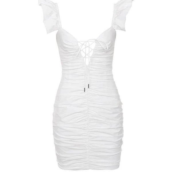 Nerise Dress White
