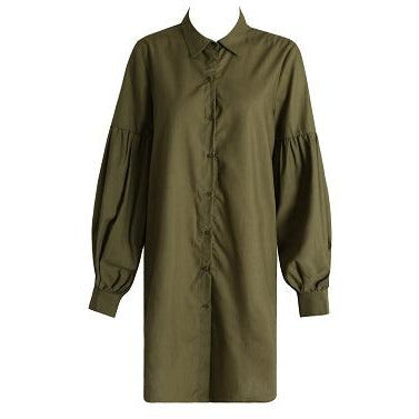 Nika Shirt Dress Khaki